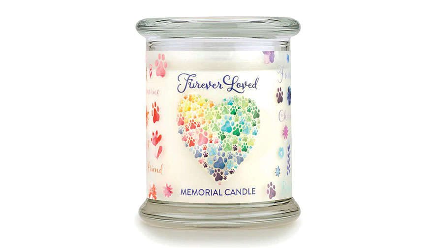 Furever Loved Memorial Candle