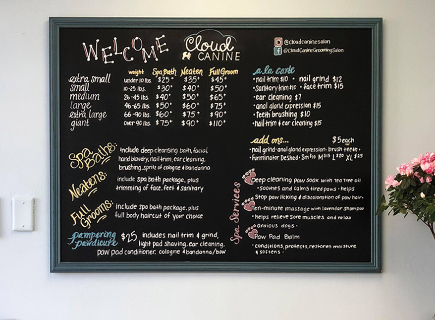 These 7 Businesses are Chalking Up More Sales with Blackboard Signs