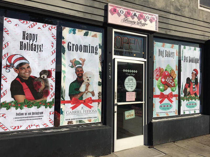 Get Inspired by the Holiday Decorations at These Pet Businesses