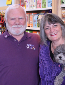 Debbie and Terry Brookham of Furry Friends
