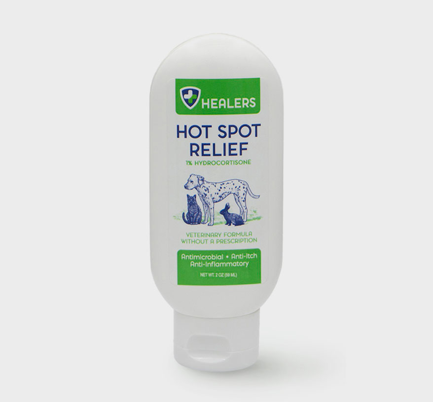 CBD Hot Spot Relief from Healers Pet Care