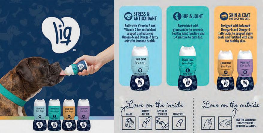 LIQ liquid treats launches