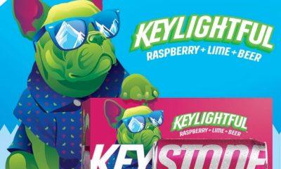 Keystone Light dog mascot