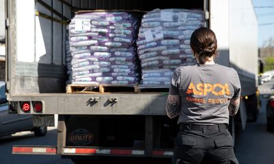 Stella and Chewy ASPCA Warehouse Delivery