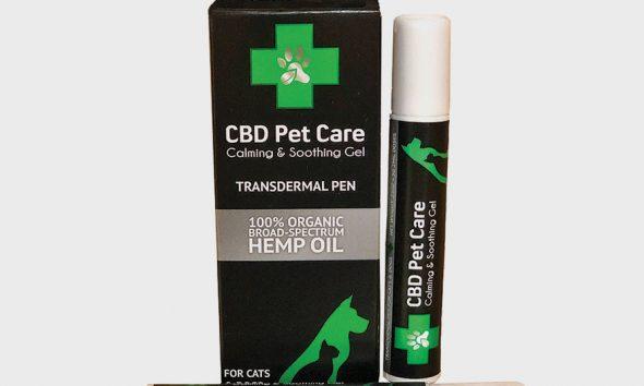 The Green Pet Shop CBD Pet Care Calming & Soothing Gel