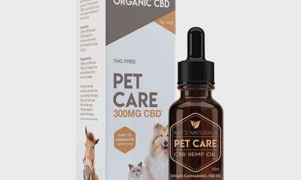 Kat's Naturals Pet Care CBD Hemp Oil