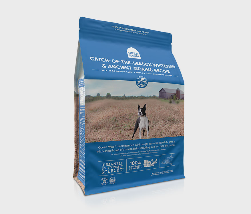 Open Farm dog food