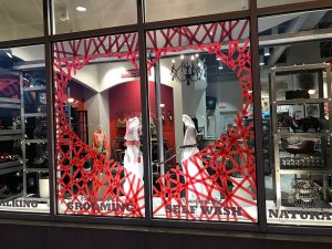 Riverfront Pets Valentines Day Window