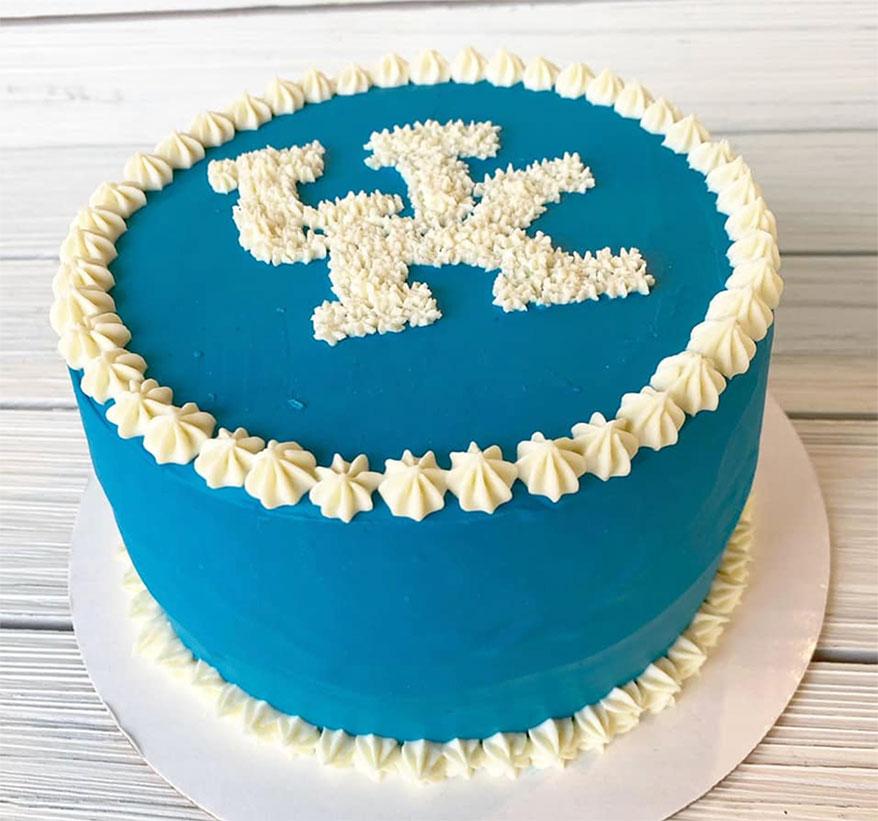 Southern Barker, KY birthday cake
