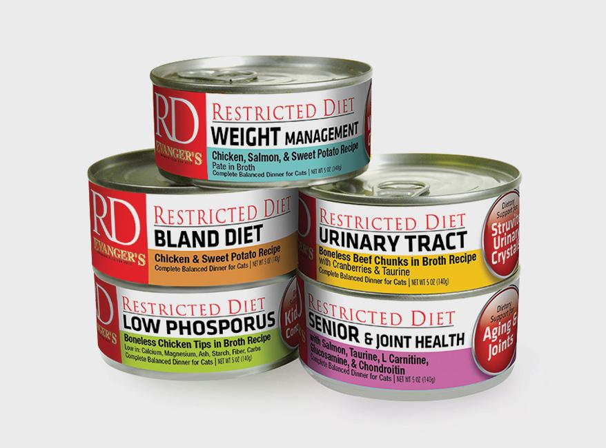 Evanger's Restricted Diet Cat Foods