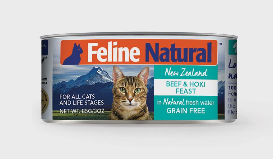 Feline Natural Premium Canned Cat Food