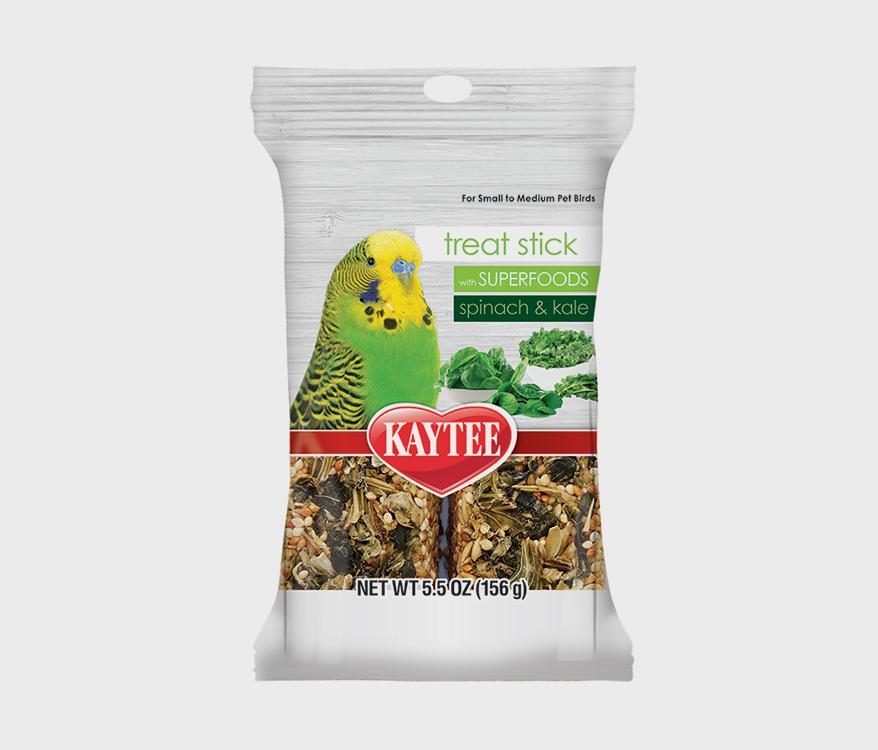 Kaytee SuperFoods TreatSticks Spinach Kale