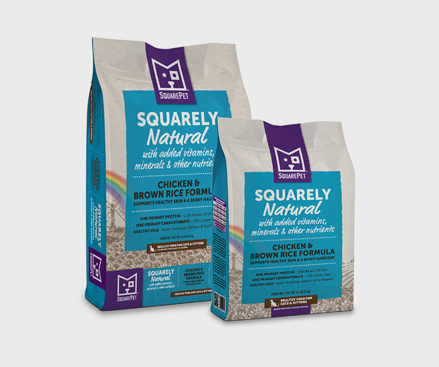 SQUARE PET product line Chicken