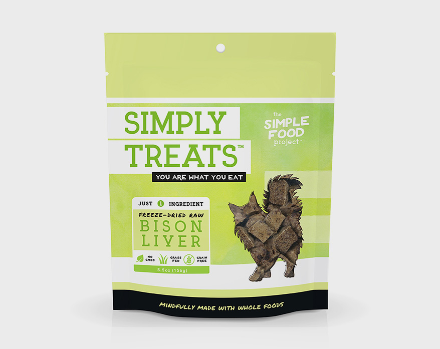 THE SIMPLE FOOD PROJECT Simply Treats for cats