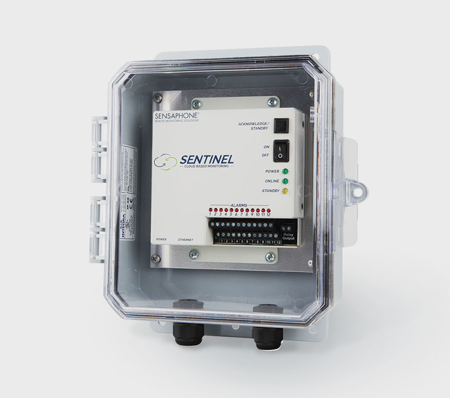 SENSAPHONE cloud-based Sentinel system
