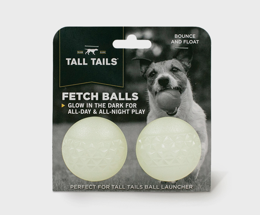 Tall Tails Glow in the Dark Fetch Balls