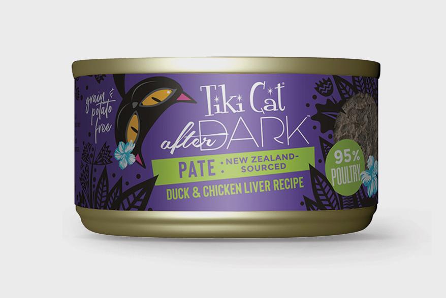 Tiki Pets After Dark Pate Cat Food