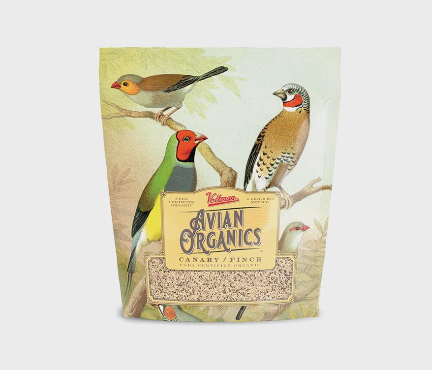 Volkman Pet Avian Organics Canary Finch