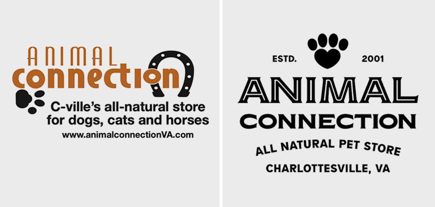 animal connection, VA logos
