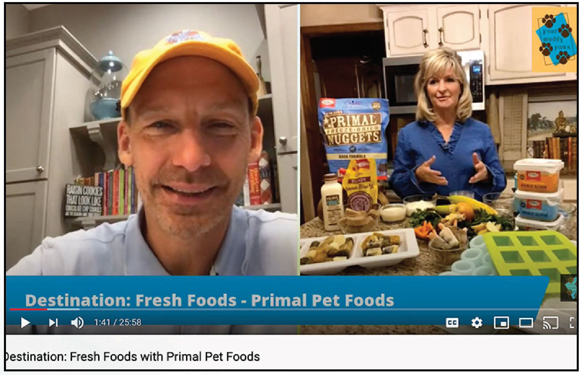 Jeffrey Jensen interviews Aundra Hedges from Primal Pet Foods
