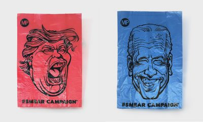 Podcast: Should You Carry Poop Bags Featuring the Faces of Donald Trump and Joe Biden?