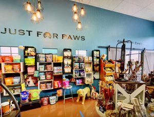 Just For Paws interior