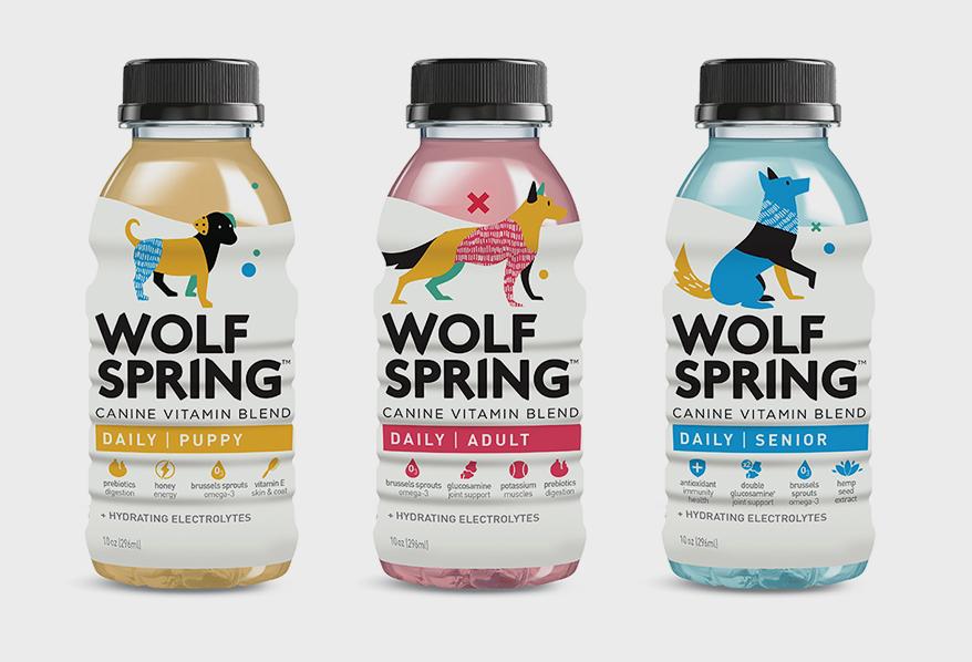 Wolfspring Bottles