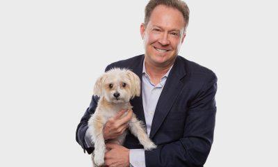 Michael Sapp and dog