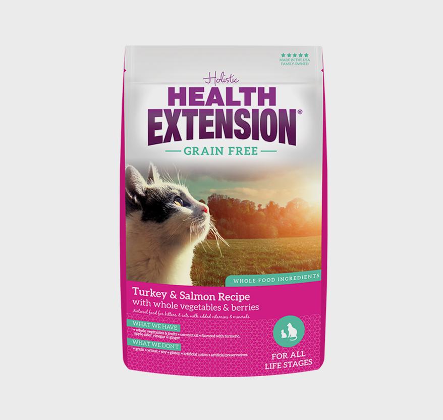 HEALTH EXTENSION Grain Free Turkey and Salmon Recipe