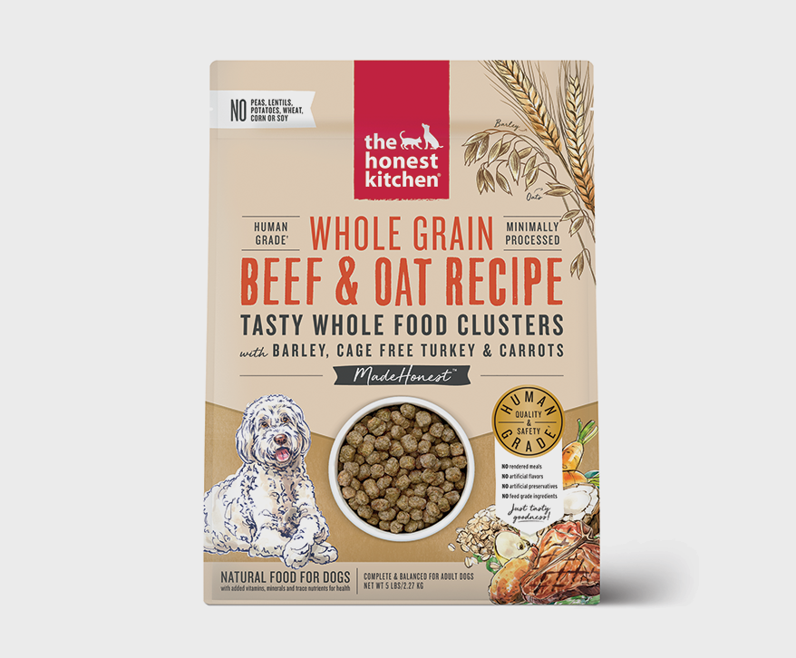THE HONEST KITCHEN Whole Grain Whole Food Clusters for Adult Dogs