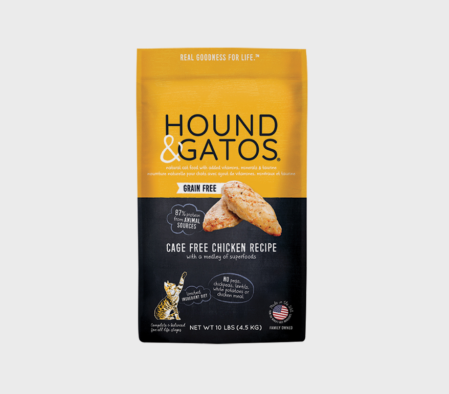 HOUND & GATOS Natural Dry Food for Cats