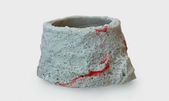 JUNGLE BOB ENTERPRISES, INC. Faux Marble Reptile Bowl