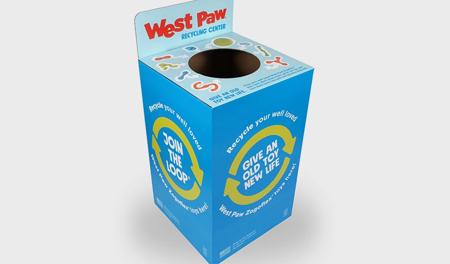West Paw Offer Recycling Collection Bins