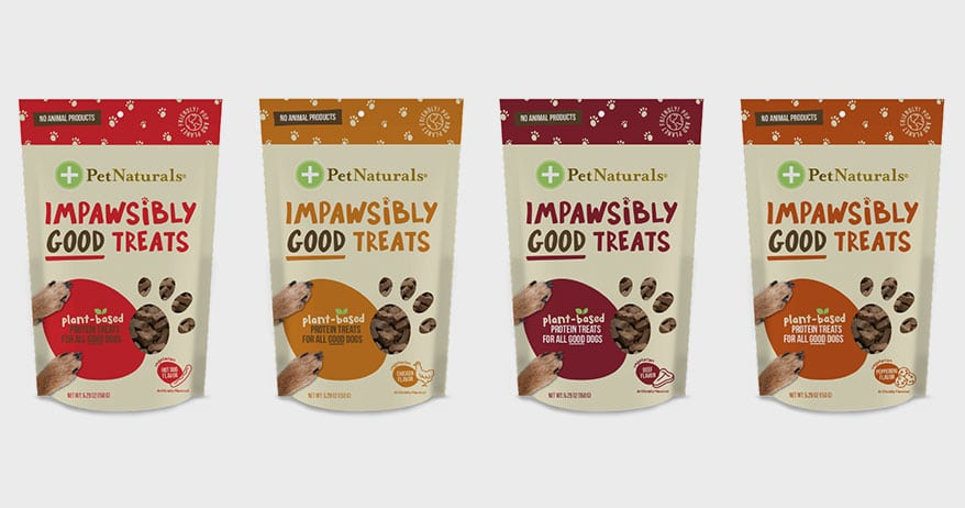 Pet Naturals® Introduces Plant-based Impawsibly Good™ Treats