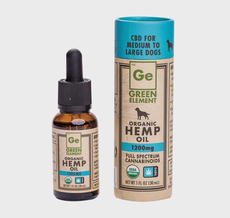 GREEN ELEMENT Hemp Oil for Pets