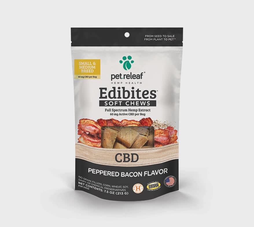 PET RELEAF Peppered Bacon Edibites