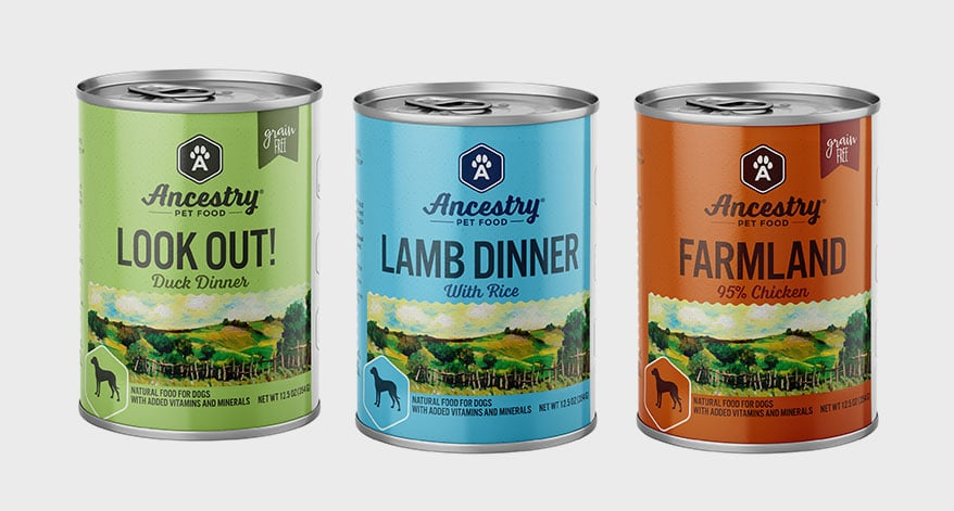 Ancestry canned products