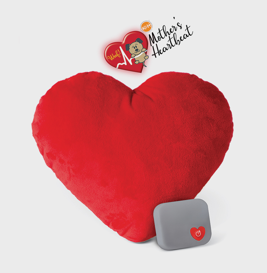 Mother's Heartbeat Pillow Toys from K&H PET PRODUCTS