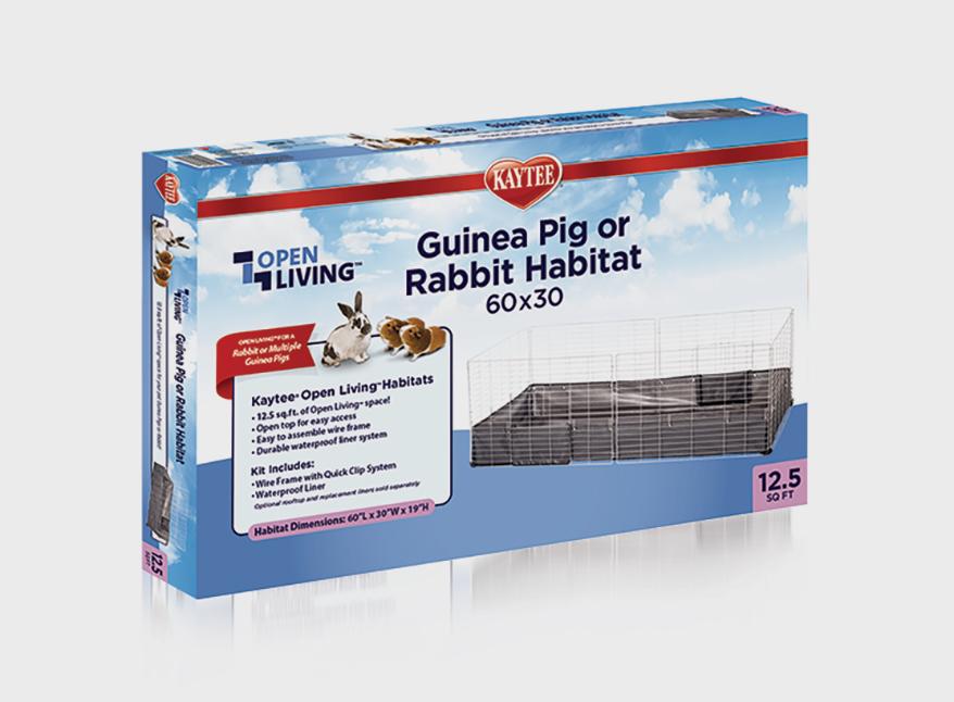 Kaytee-Open-Living-Guinea-Pig-or-Rabbit-Habitat
