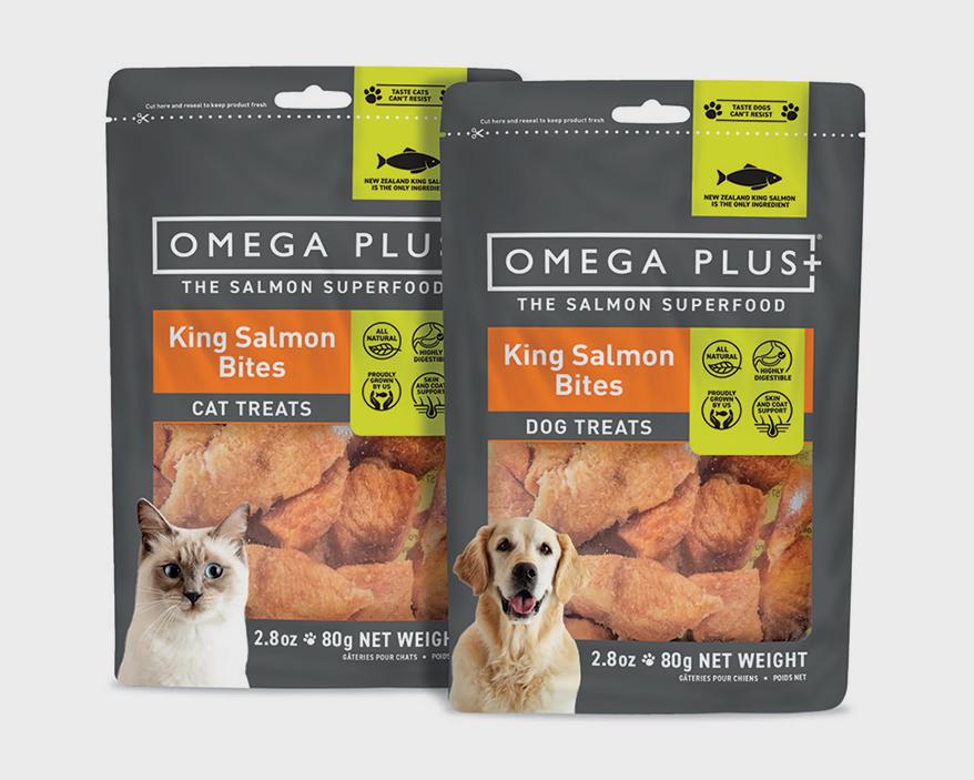 King Salmon Bites from OMEGA PLUS