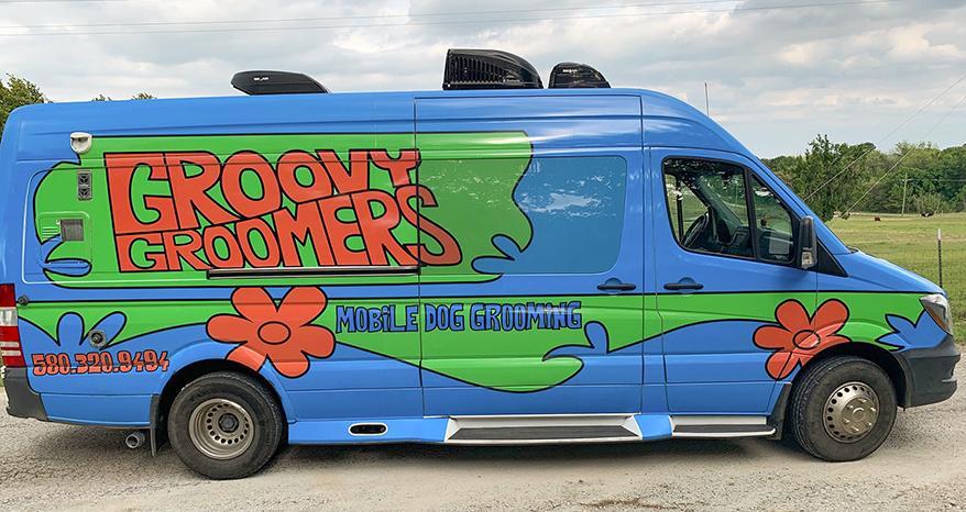 Groovy Groomers mobile groomer