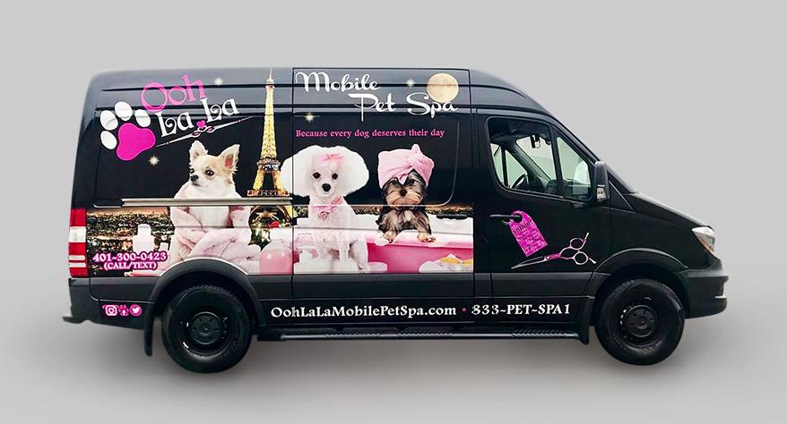 Ooh La La Mobile Pet Spa mobile groomer