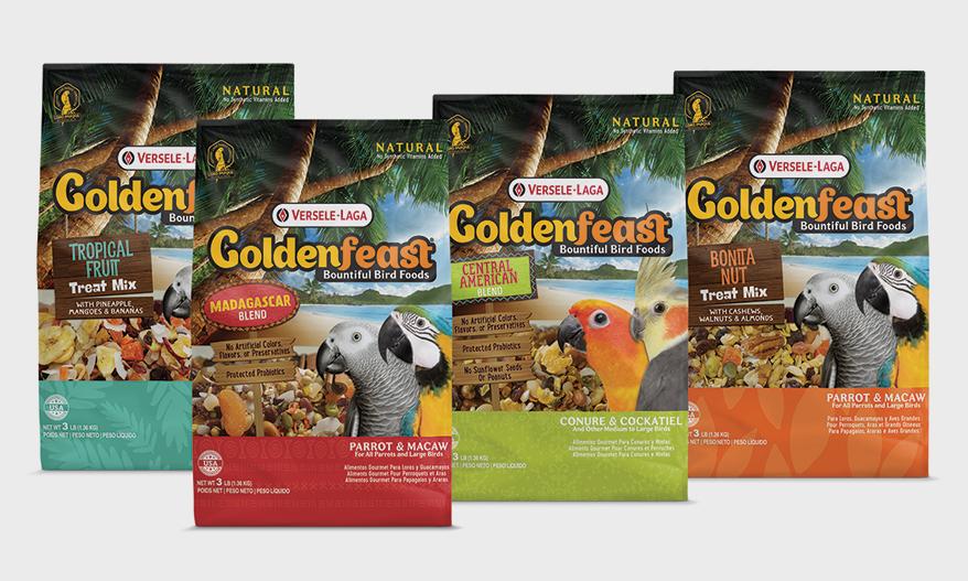 Goldenfeast Bountiful Bird Foods by VERSELE-LAGA