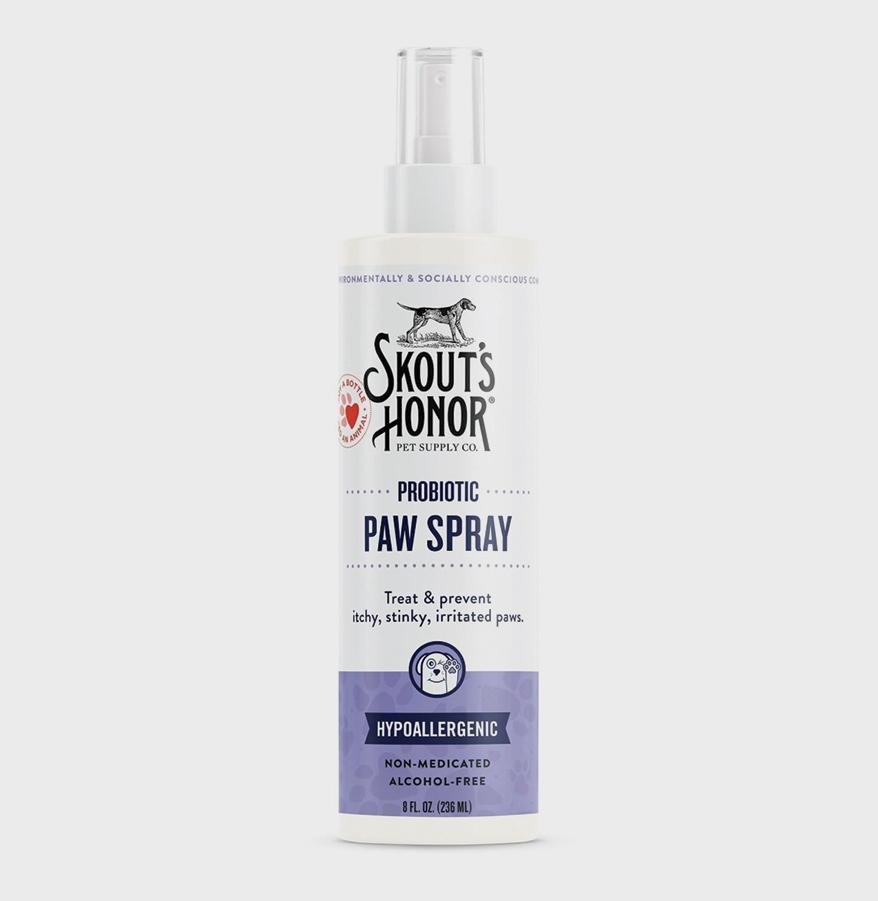 SKOUT'S HONOR Probiotic Paw Spray