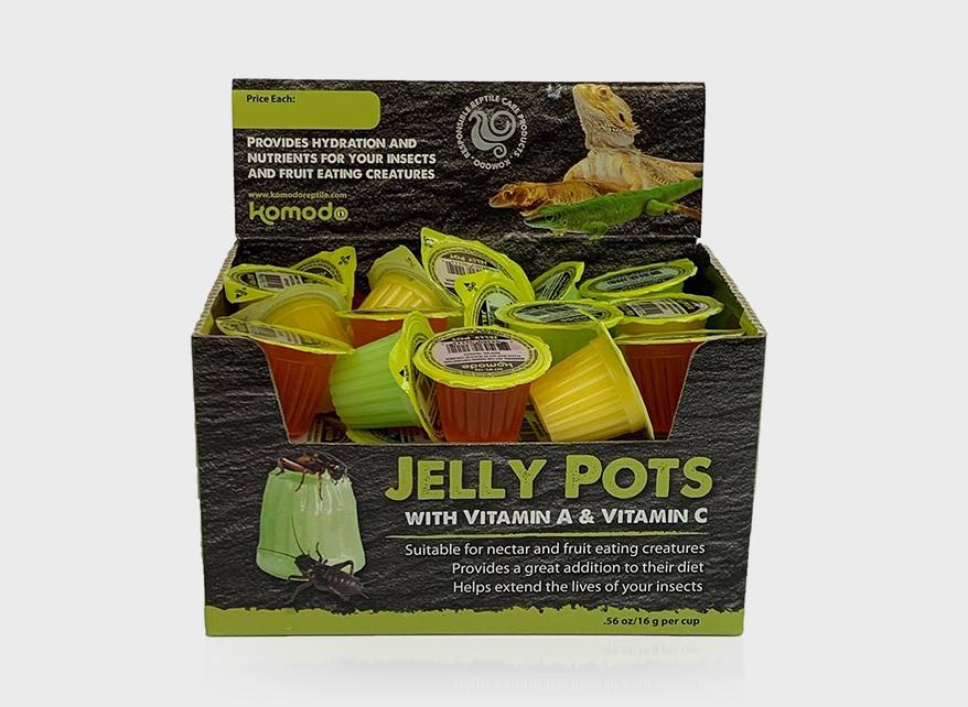 Kimodo jelly pots