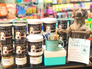Lucky Dog Pet Grocery & Bakery interior