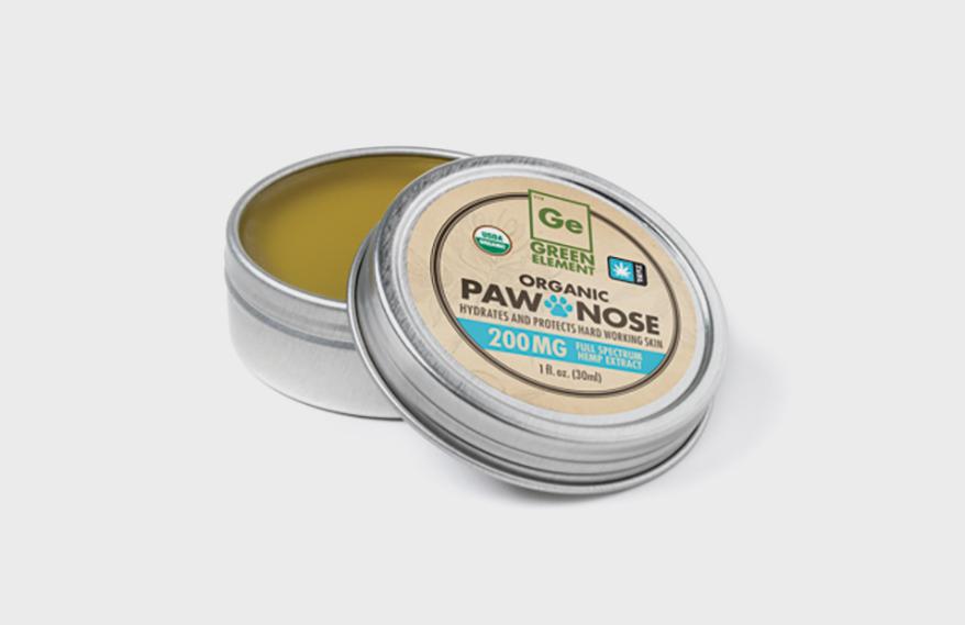 GREEN ELEMENT Paw & Nose Hemp Balm
