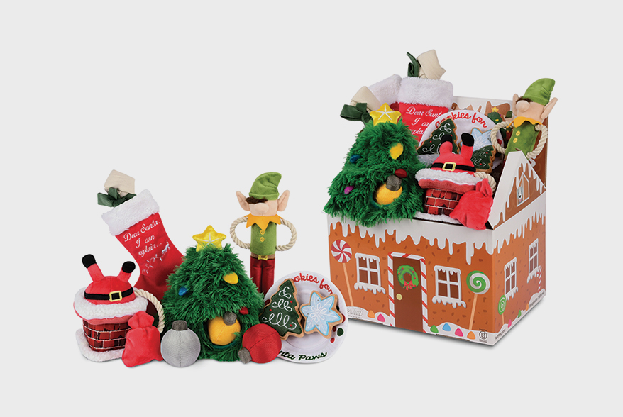 P.L.A.Y. PET LIFESTYLE AND YOU Merry Woofmas Plush Toy Collection