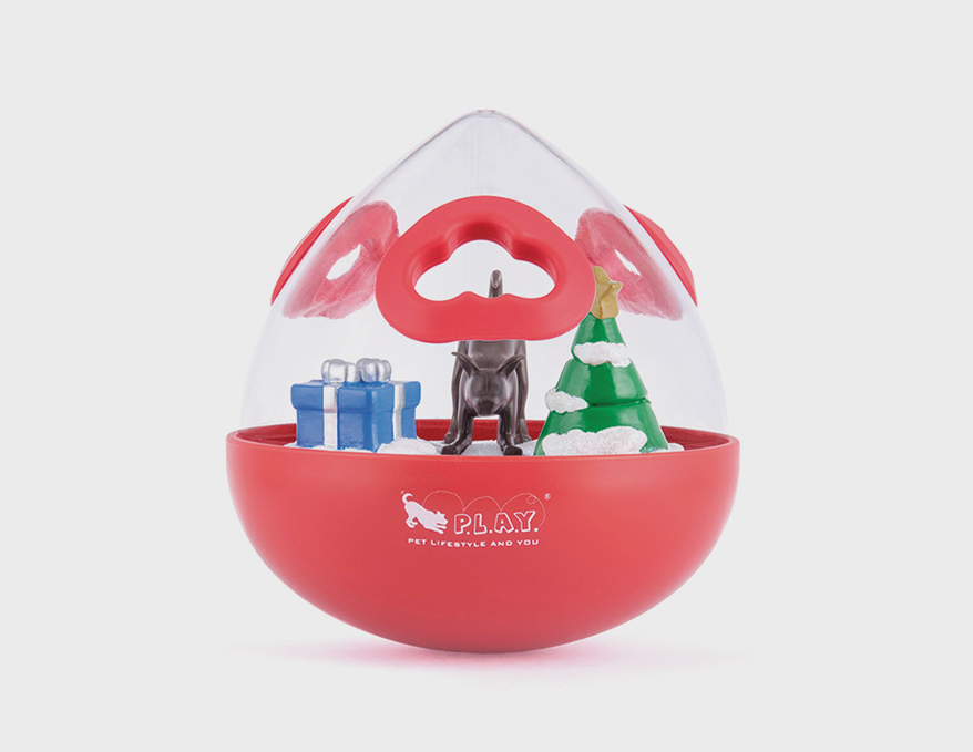 P.L.A.Y. PET LIFESTYLE AND YOU Wobble Ball™ Interactive Treat Toy