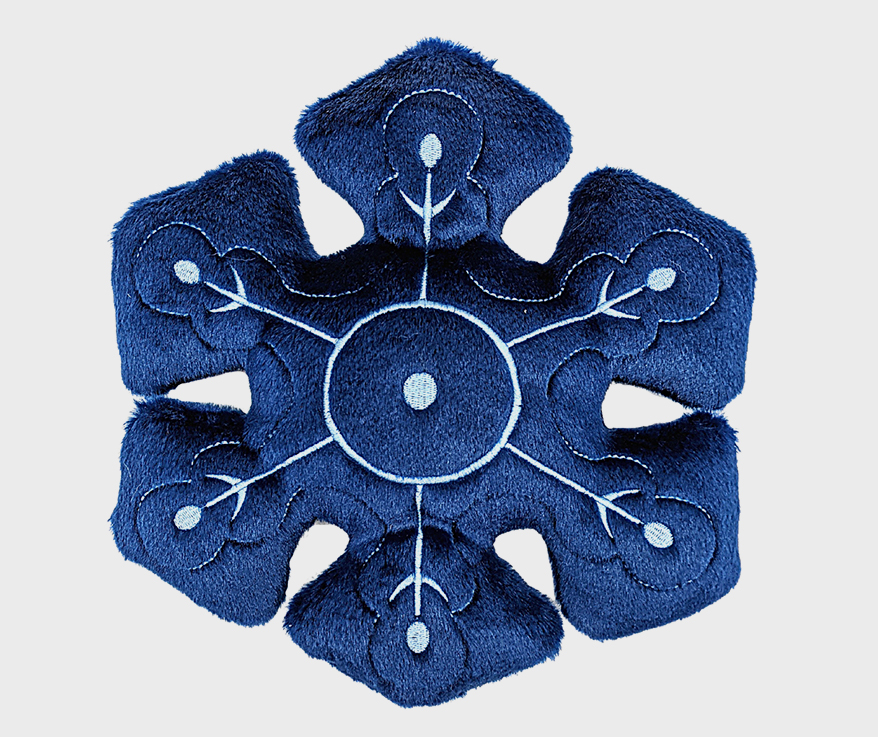 FLUFF & TUFF Holiday Charity Toy Snowflake